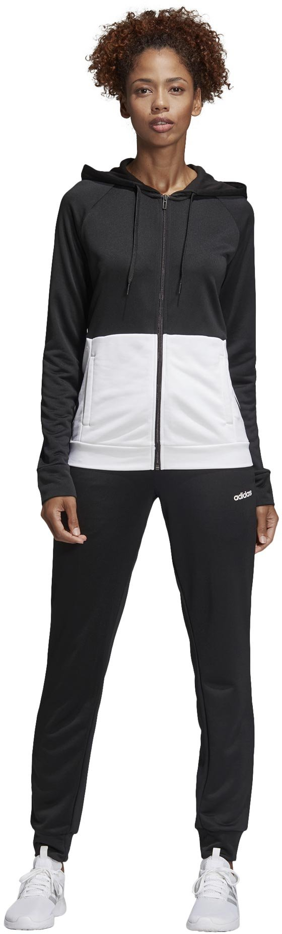 adidas W Tracksuit Linear French Terry Hoodie S