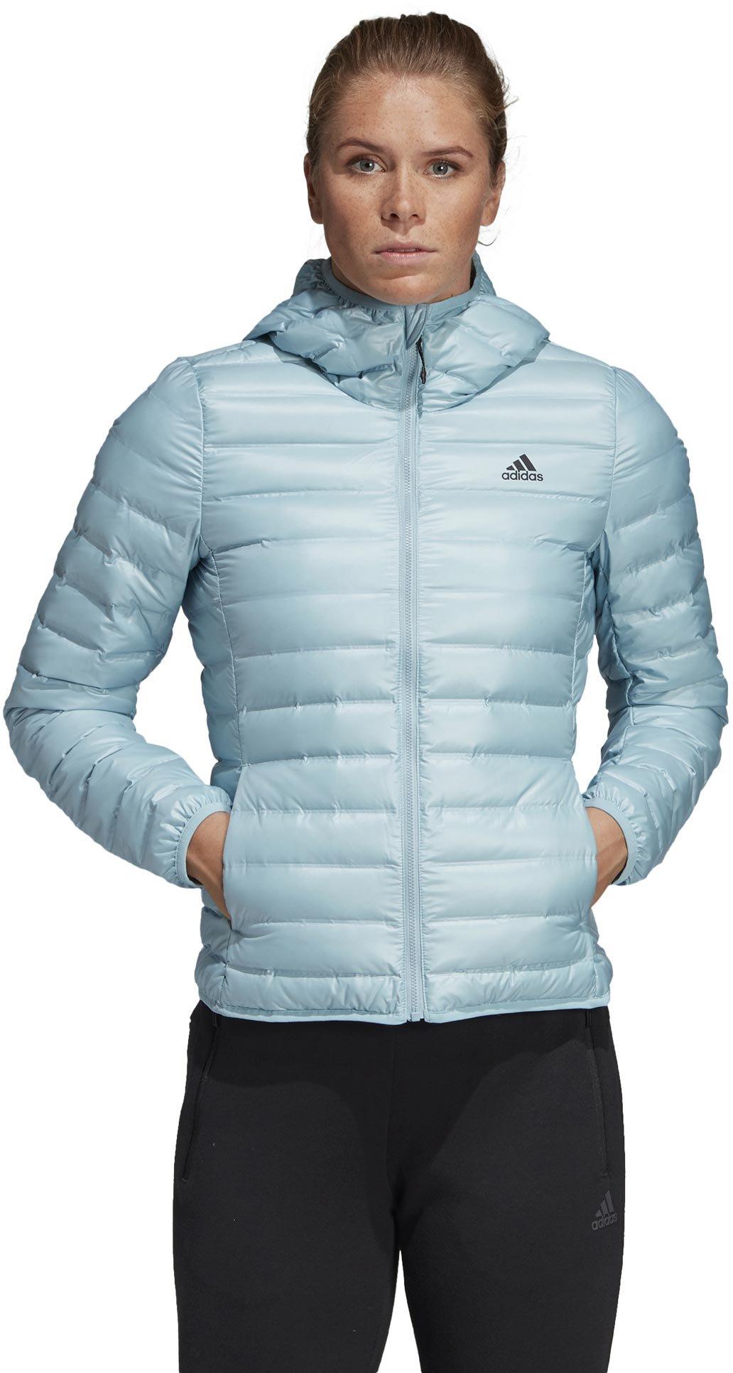 adidas W Varilite Down Hooded Jacket S