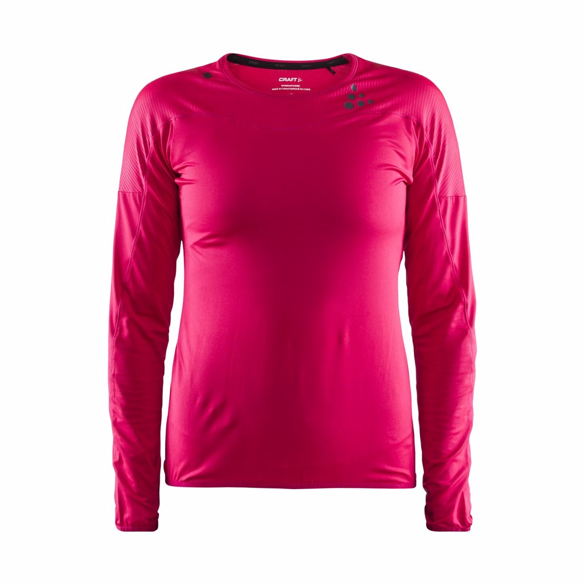 Craft W Tričko Shade LS ružová L