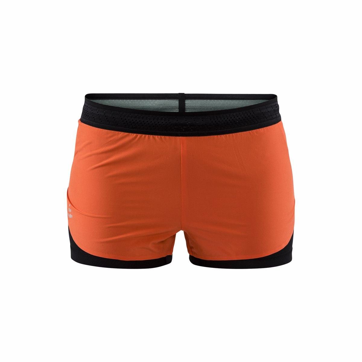 Craft W Šortky Nanoweight Shorts oranžová XL