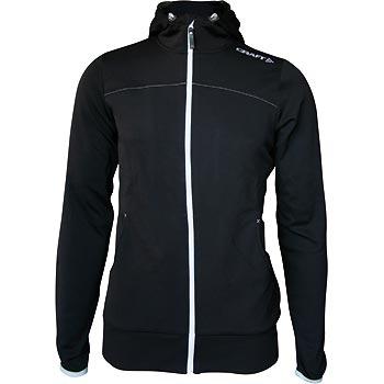 Craft W Mikina Leisure Full Zip Hood čierna XS