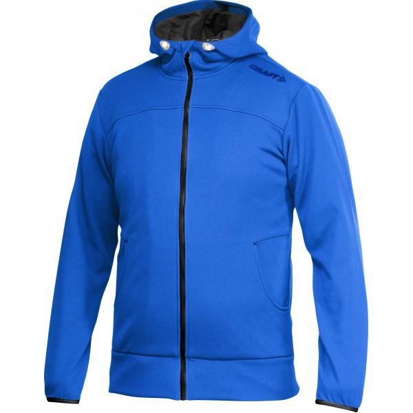 Craft W Mikina Leisure Full Zip Hood modrá S
