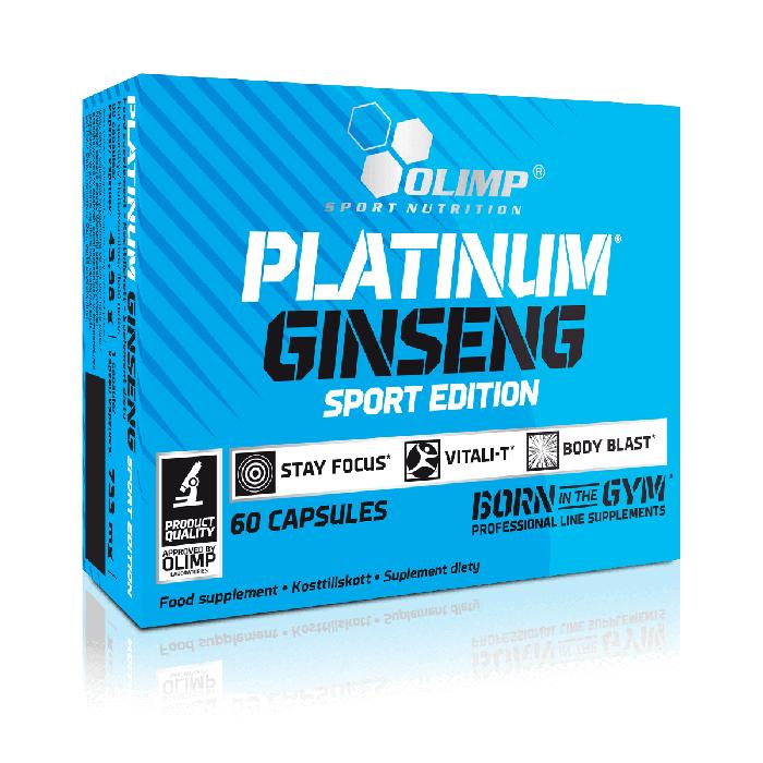 Olimp PLATINUM GINSENG 550, SPORT EDITION, ženšen, 60 kapslí
