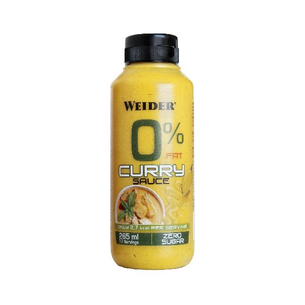 WEIDER 0% Fat Curry omáčka, 265 ml