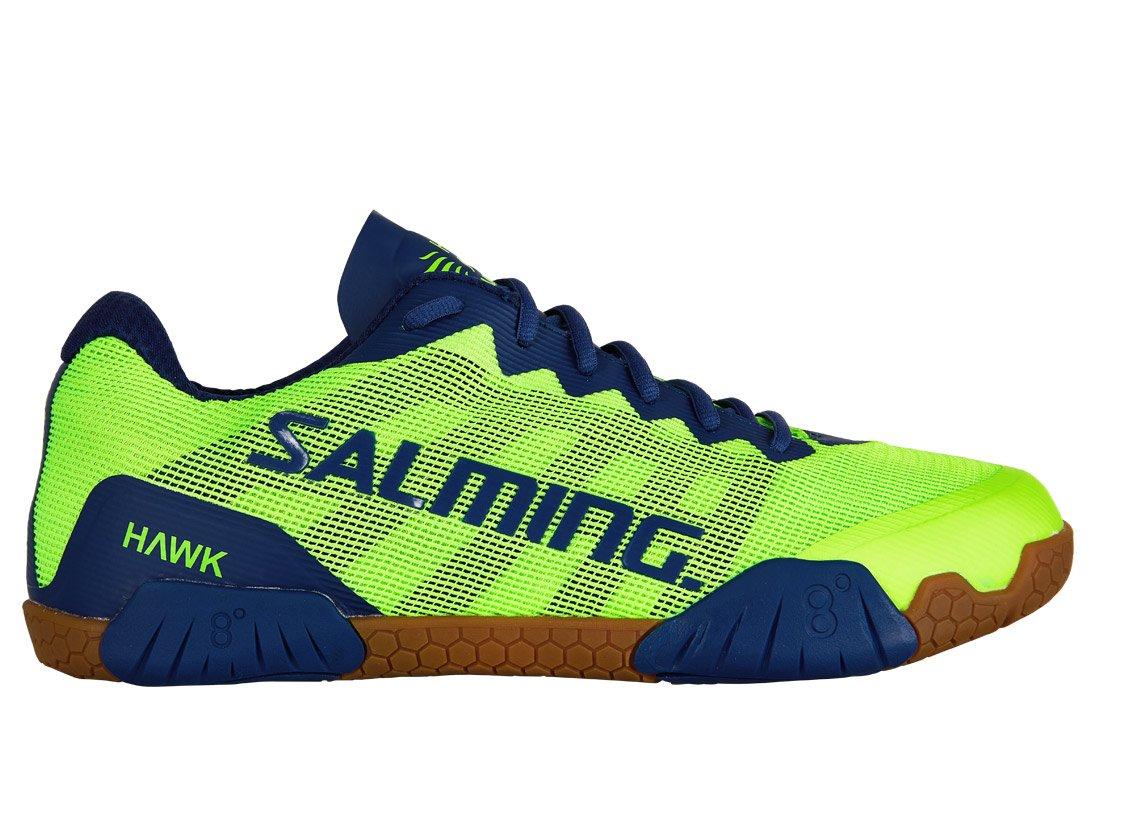 Salming Hawk Shoe Men Fluo Green/Limoges Blue 49 1/3