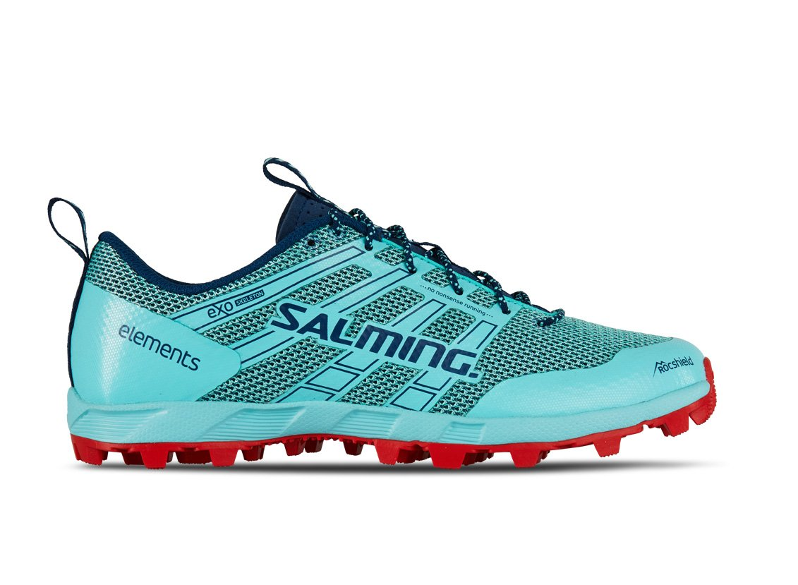 Salming Elements 2 Women Aruba Blue/Poseidon Blue 38