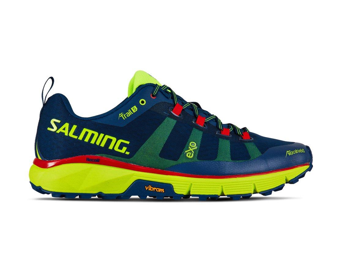 Salming Trail 5 Men Poseidon Blue/Safety Yellow 49 1/3
