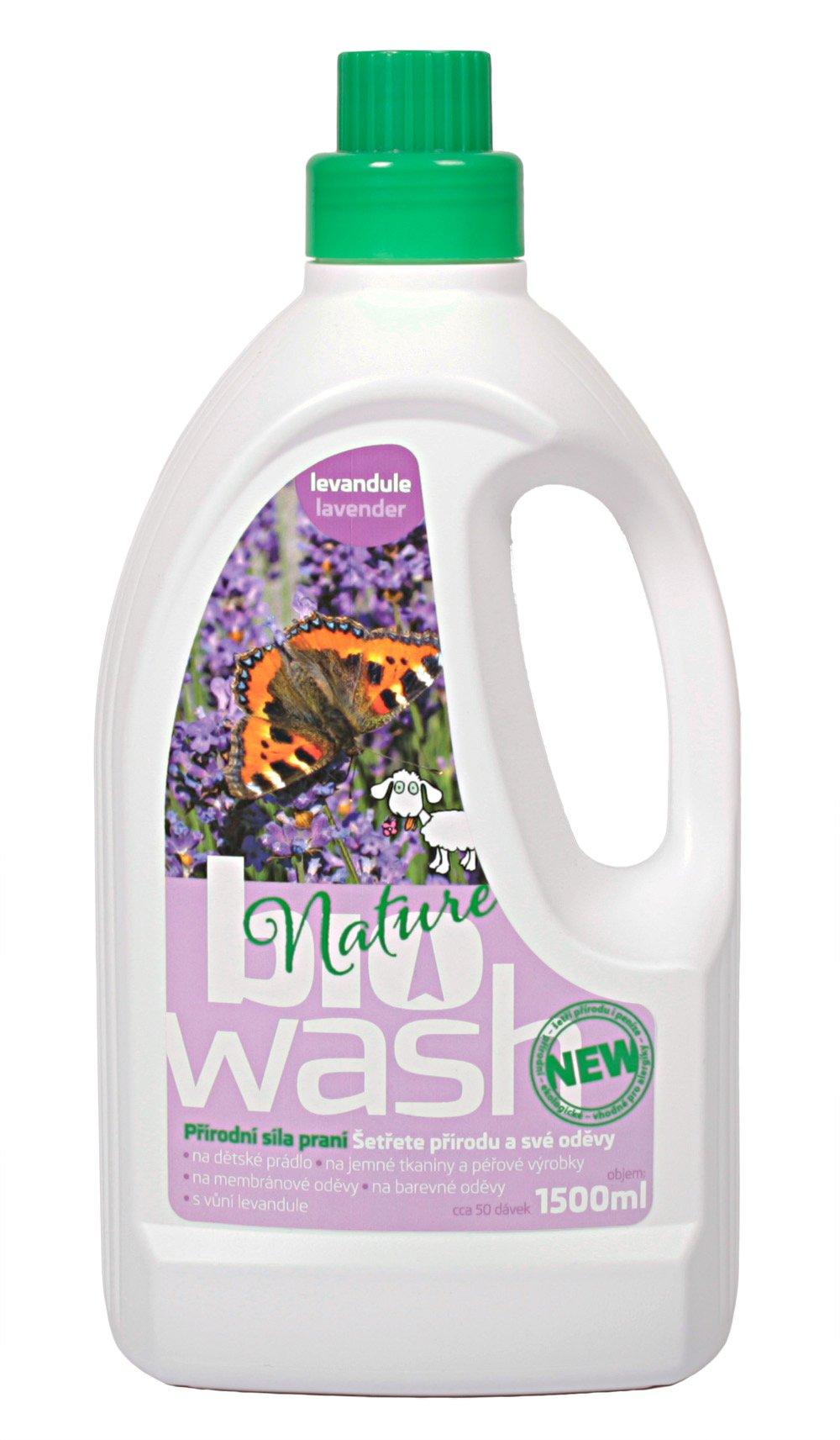 BioWash levandule, 1500 ml
