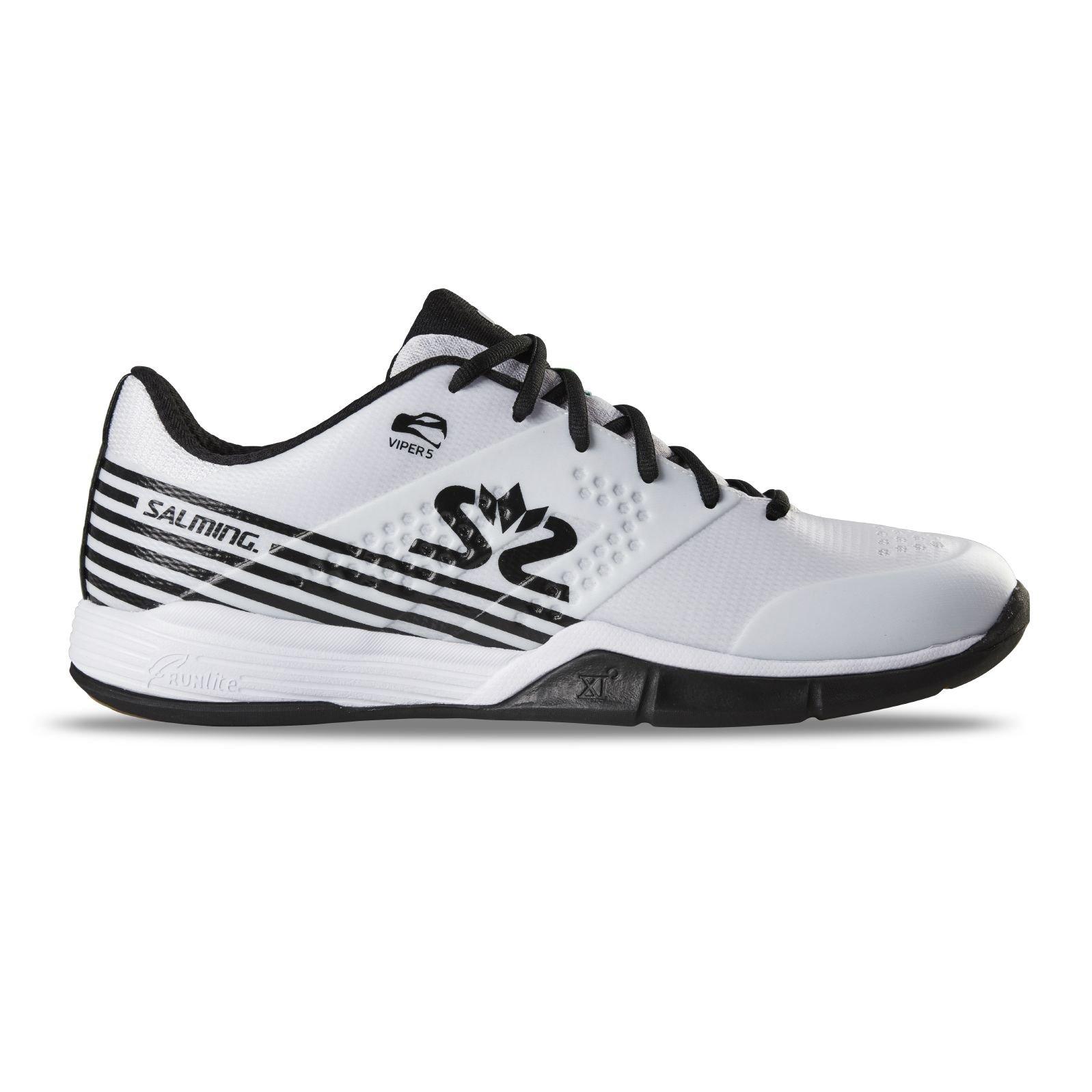 Salming Viper 5 Shoe Men White/Black 49 1/3