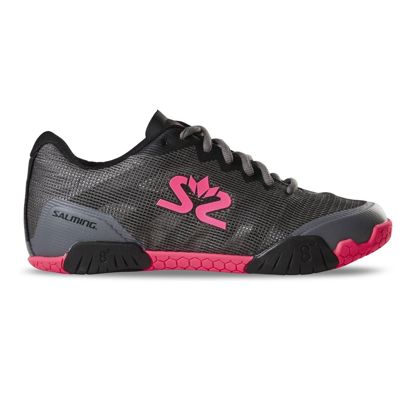 Salming Hawk Shoe Women GunMetal/Pink 42