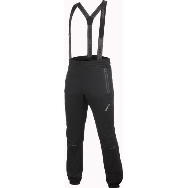 Craft Nohavice PXC High Function Full Zip čierna so šedou XL