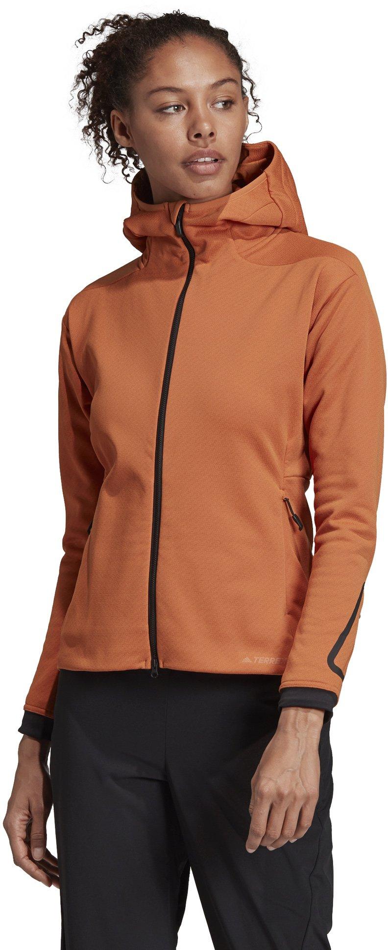 adidas Climaheat Hooded Fleece Jacket W S