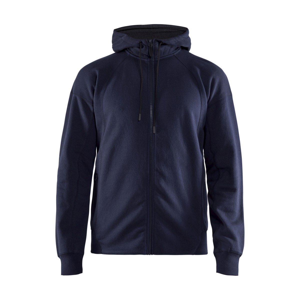 Craft Mikina FZ Hood tmavě modrá XL