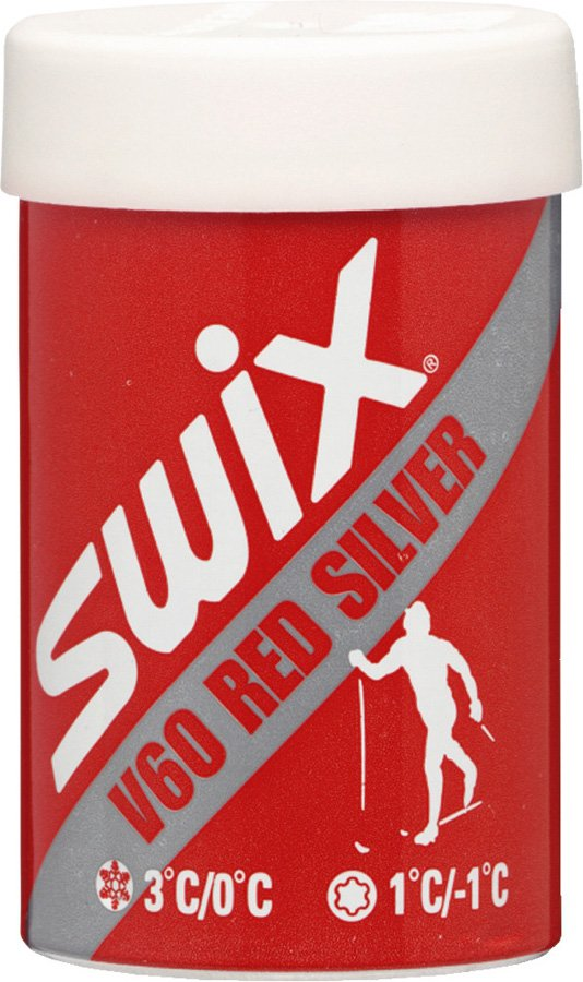 Swix červený stříbrný 45g