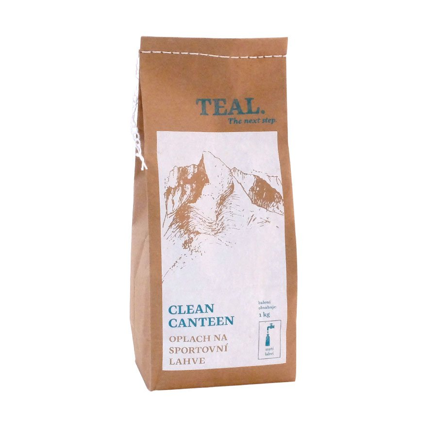 Teal Clean Canteen