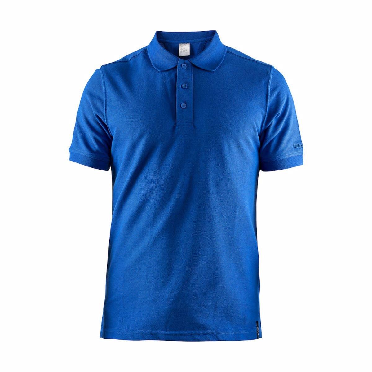 Craft Triko Casual Polo Pique modrá M