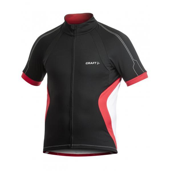 Craft Cyklodres PB čierna s červenou M