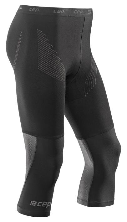 CEP 3/4 sportovní kalhoty BASE pánské černá III