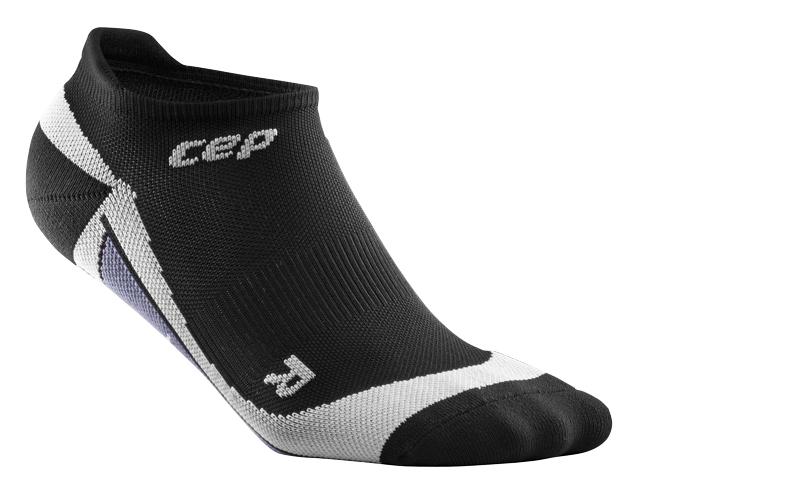 CEP Nízké ponožky dámské černá / šedá II
