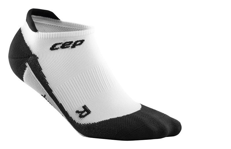 CEP Nízké ponožky dámské bílá / černá II