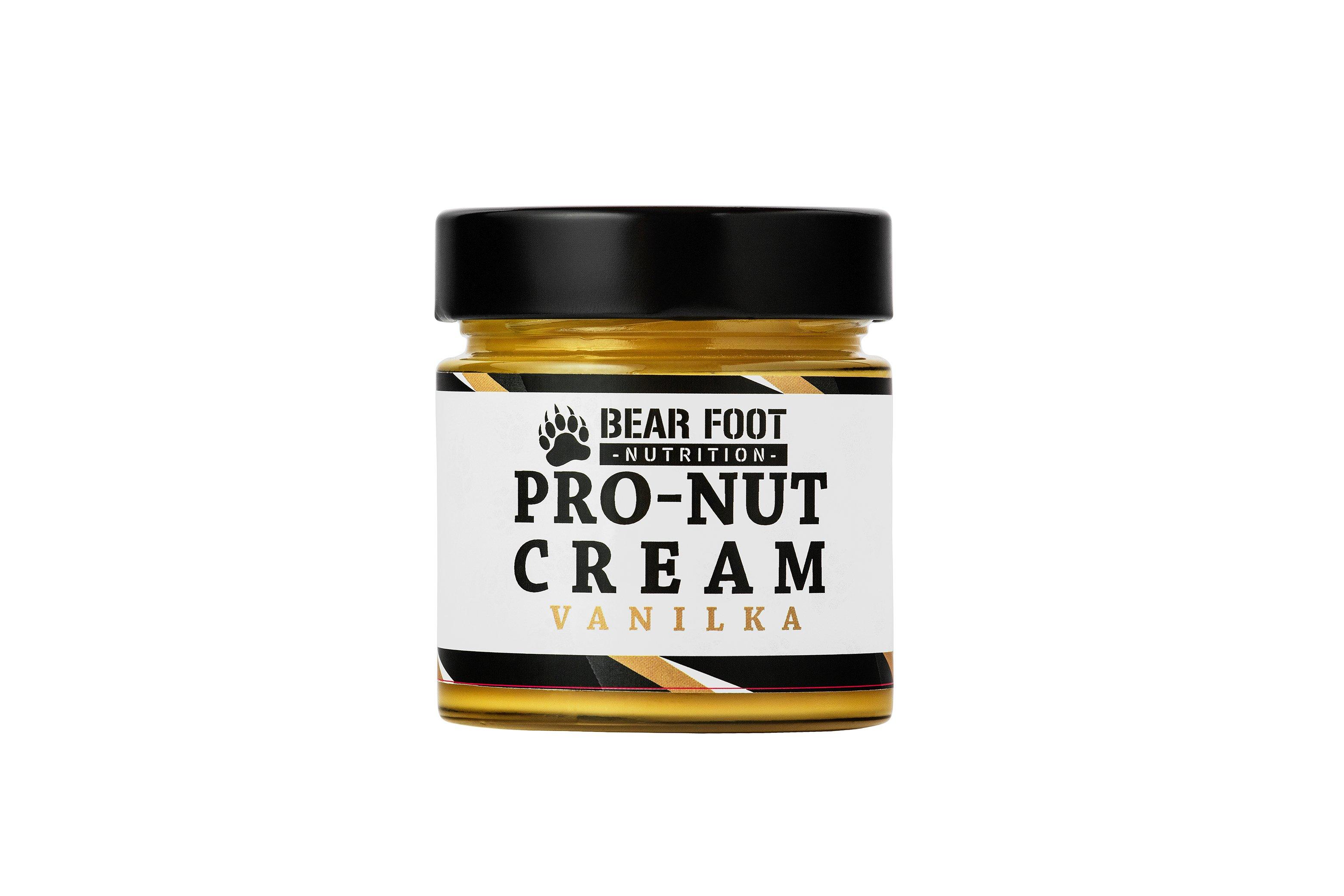 Bear Foot Pro-Nut Cream, vanilka, 250g