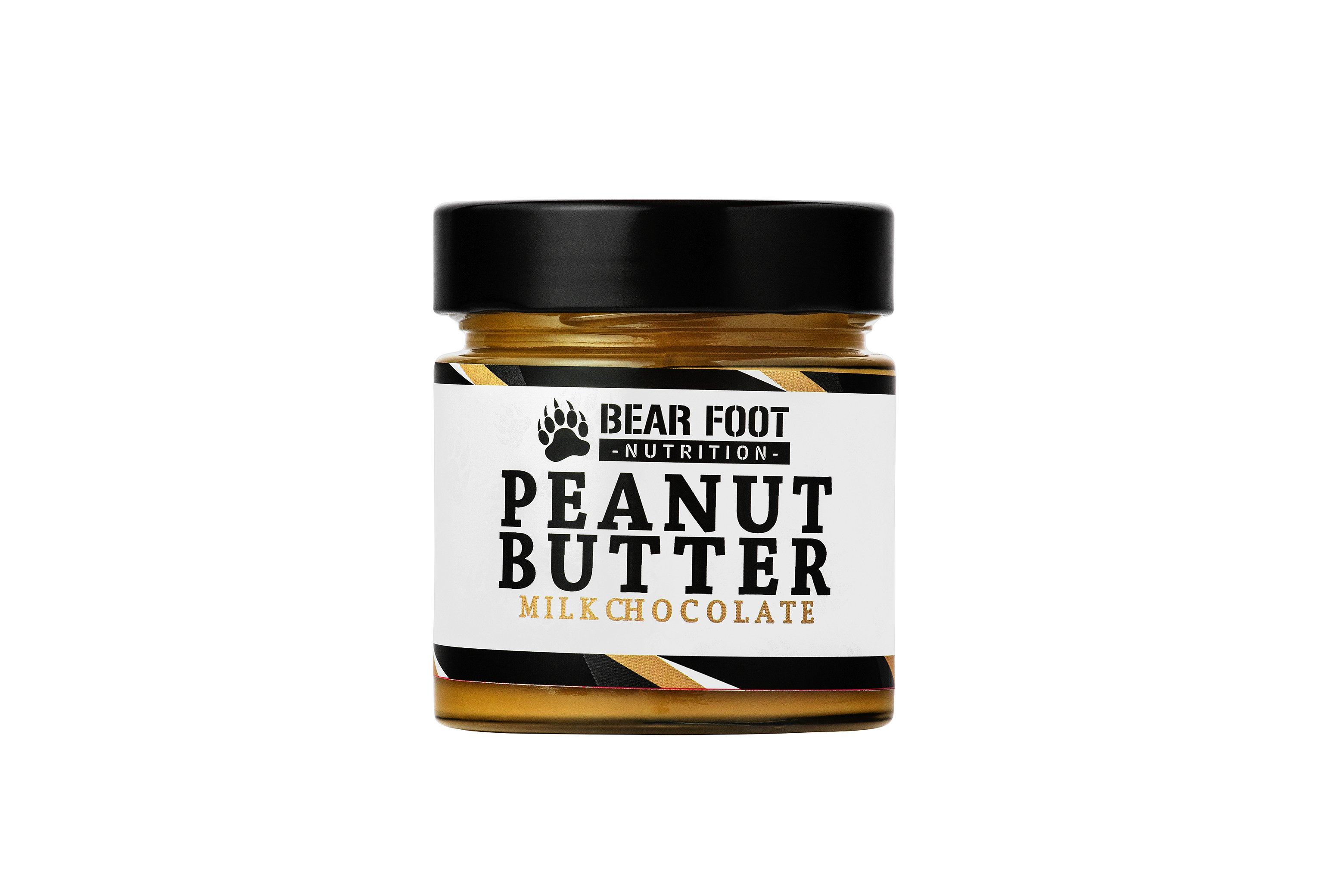 Bear Foot Peanut Butter, Milk Chocolate, 250g