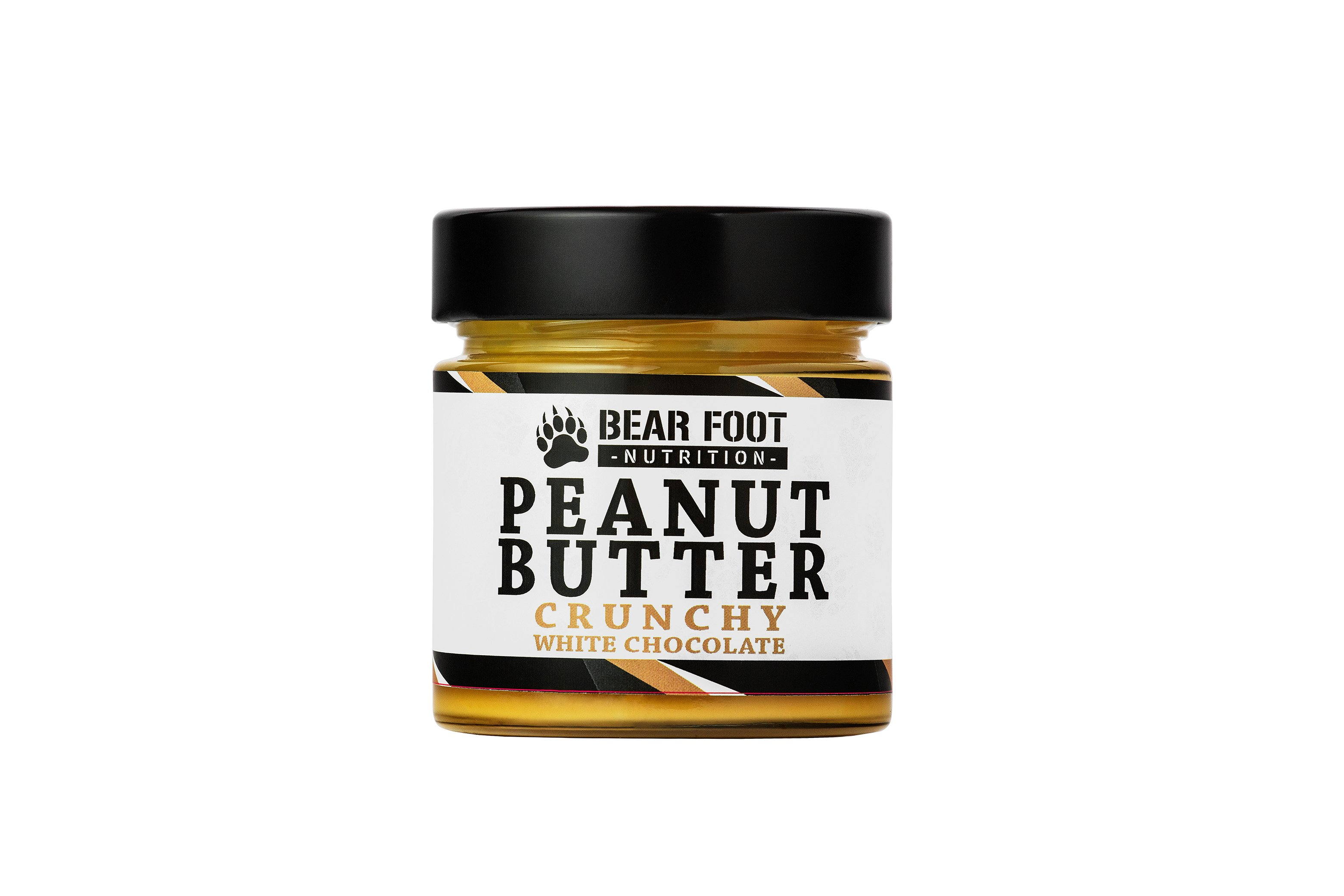Bear Foot Peanut Butter, Crunchy White Chocolate, 250g