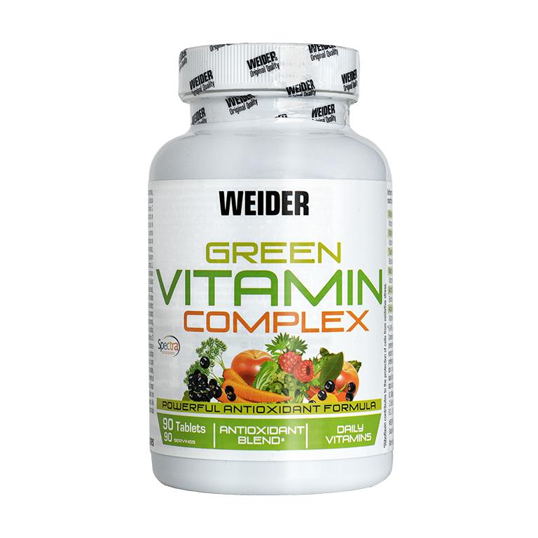 Weider Green Vitamin Complex 90 tablet, vitaminy a minerály z rostlinných extraktů