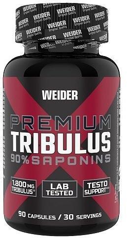 Weider Premium Tribulus 90% Saponins 90 kapslí, stimulant testosteronu, kotvičník zemní se zinkem